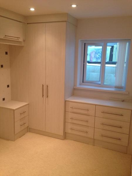 Hasienda White Fitted Bedroom