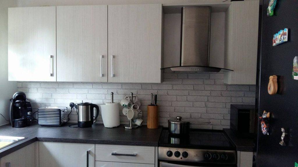 Fitted Kitchen Blackpool Lancashire; Kitchen Fitter Hasienda White; Fitted  Modern Kitchen Hasienda White ...